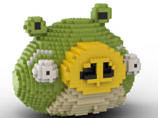 LEGO Green Pig statue building instruction 2 Angry Birds INSTRUCTIONS ONLY