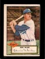 1952 TOPPS #37 DUKE SNIDER GOOD DODGERS (RED BACK) HOF  *XR8850