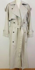 Dorothy Perkins Ladies Vintage Beige Trench Coat UK 10