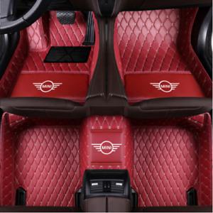 Luxury customization  For Mini Cooper,Cooper Clubman,Countryman,Paceman Car Mats