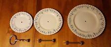 Royal Albert Memory Lane 3-Tier Tray Stand Bone China England Serving Dish