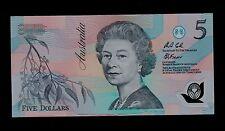AUSTRALIA 5  DOLLARS  ( 1992 )  AB02    PICK  # 50a UNC.
