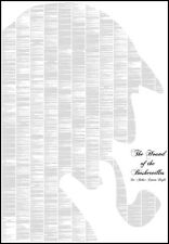 Spineless Classics Sherlock Holmes Hound Of The Baskervilles Full Book Poster