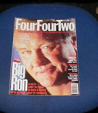FOURFOURTWO MAGAZINE MARCH 1996 - RON ATKINSON/ROBERT FLECK/BRISTOL ROVERS