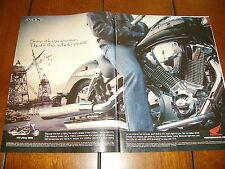 2002 HONDA VTX 1795cc V-TWIN  ***ORIGINAL 2 PAGE  AD***