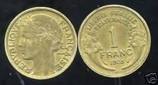 FRANCE  FRANCIA  1 franc morlon  1935