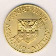 SPORT CLUB MERANO medal plaque MERAN Bolzano ITALY Italia Tyrol MEDAGLIA
