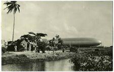 ZEPPELIN, GRAF ZEPPELIN, 4th.SOUTH AMERICA FLIGHT, YEAR 1932, ZEPPELIN IN HANGAR