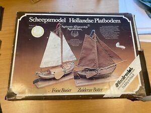Wooden model boat kits - Hedrecht. Zuider Zee Fresian Boeier & Zuiderzee Botter