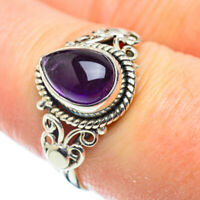 Amethyst 925 Sterling Silver Ring Size 8.25 Ana Co Jewelry R52050F