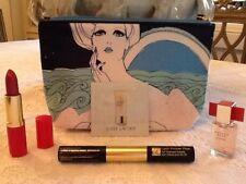 Estée Lauder Lipstick ,Mascara & Primer Duo, Modern Muse Le Rouge & Cosmetic Bag
