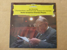 Strawinsky - Kammermusik - Boston Chamber Players - DGG Stereo  (0173)