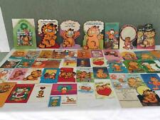 Vintage Lot 54 Garfield Greeting Cards Birthday Easter Halloween More P238