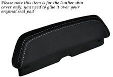 WHITE STITCH CUSTOM FITS LAVERDA 650 668 BACKREST PAD LEATHER SEAT COVER
