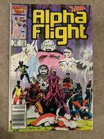 Alpha Flight # 33 Newsstand 1st Appearance of Lady Deathstrike Adult Owned