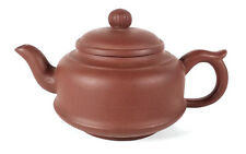 BEAUTIFUL CHINESE YIXING ZISHA CLAY POTTERY TEAPOT CHARACTER MARKS CHINA