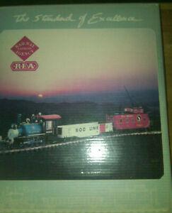 ART 29051 Aristo-Craft 2-4-2 Starter Set Blue (Korea) Box with pics (no trains)