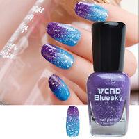 7.5ml Thermal Temperature Nail Polish Color Changing Nail Art Varnish Decoration