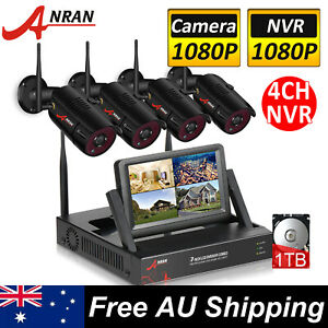 ANRAN CCTV Home Security Camera System Wireless Outdoor with 1TB Hard Drive HDMI