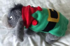 Small Dog/Puppy Knitted Elf Christmas Jumper/Santa's Helper Fancy Dress Outfit