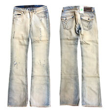 Calvin Klein Damen Jeans Hose Bootcut Schlaghose Blau Größe wählbar NEU