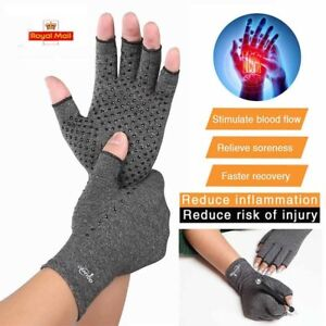 Active Arthritis Gloves + Grip Hand Compression Joint Arthritic Pain Relief UK