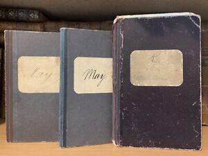 1922 NAUTICAL LOGS Hamburg Transportation Passports of Hugo Karl May