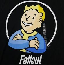 Fallout Vault Boy Men's Small T-Shirt Officially Licensed Bethesda Video Game