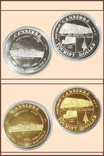 Tourist Dollar :- Canaberra ACT Dated 1983 Silver and Brass