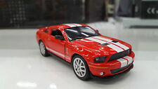 2007 Shelby GT-500 red kinsmart TOY model 1/38 scale diecast Car present gift