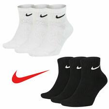 Nike Everyday Quarter Cushion Ankle Training Socks 3 Pairs Pack | Size 8-12.