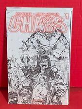 Chaos #1 Sketch Cover Rare Mirka Andolfo Tim Seeley Dynamite Comics