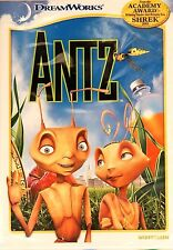 1998 Antz Anime Animated Family Kids Film Woody Allen Sharon Stone New Dvd