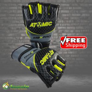 Atomic Boxing Pro Leather MMA Mitt Martial Arts Glove