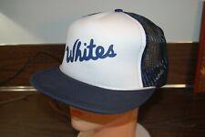 Early! Vtg 70s WHITES WORK BOOTS SPOKANE TRUCKER MESH SNAPBACK HAT CAP