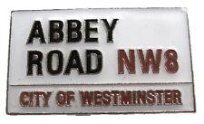 METALLO SMALTO SPILLA BADGE ABBEY ROAD BEATLES MUSICA ROCK LONDRA UK Modulo