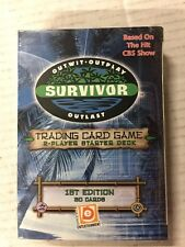 Survivor Trading Card Game 1st Edition 60-card Theme Deck TV Show 2001