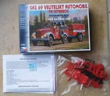 Feuerwehr Geländewagen GAZ 69 mit Anhänger   - Feuerwehr     1:87