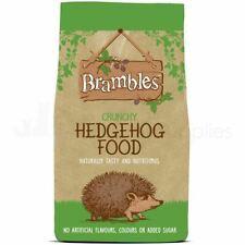 More details for brambles hedgehog food crunchy biscuit natural wild animal feed dry 900g or 2kg