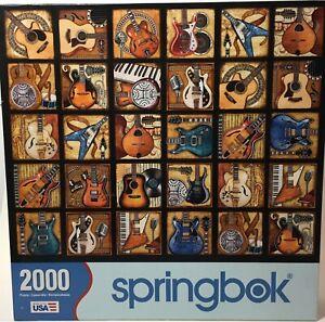 Guitar Springbok Puzzle 2000 pieces