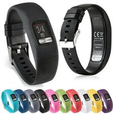 Replacement Silicone Strap Fitness Tracker Watch Band for Garmin Vivofit 4