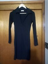 Kookai Black v neck Dress Size 2 Brand new - no tags