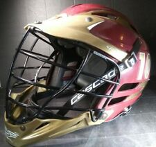 Maroon & Gold Cascade Tomahawks~Lacrosse Helmet Cpxr 10# Great Condition