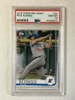 PETE ALONSO 2019 Topps Pro Debut ROOKIE RC #32! PSA GEM MINT 10! MILB SP! METS!