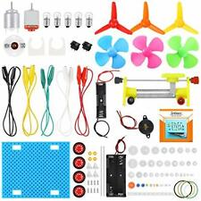 Sntieecr Electric Circuit Learning Kit, Car Model Assemble Physics Science