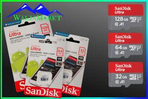 Micro SD Karte 32GB 64GB 128GB Class10 - Speicherkarte Memory Card SanDisk Ultra