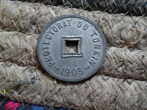 French Indo China, Tonkin 1905 UNC
