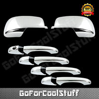 For Dodge Journey 2009-2012 Chrome Mirror Cover And Door Handle Cover