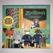 Zootopia Crochet by Kati Galusz (2017, Kit) Crafts Hobby Hook Yarn