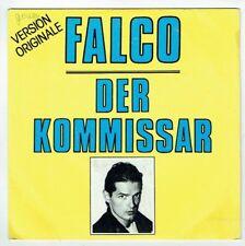 """FALCO Vinyl 45 tours 7"""" SP 1982 DER KOMMISSAR -HELDEN VON HEUTE -AM 9235 punki64"""